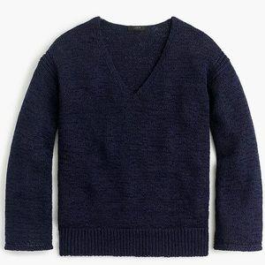 NWOT J. Crew Flare Sleeve Swing Sweater Size XL